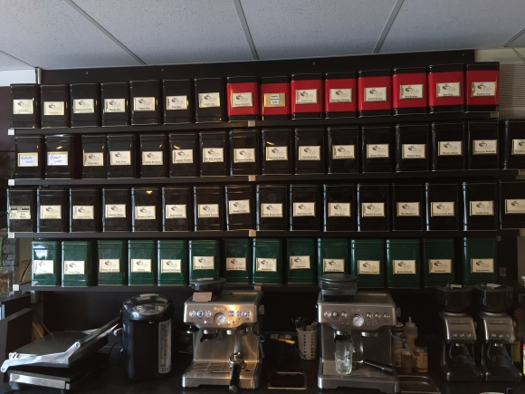 Our tea selection!